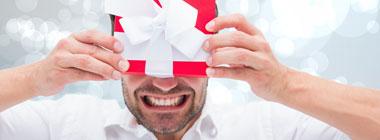 Ziemassvētku dāvanas vīrietim