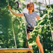 Tarzāna šķēršļu parks bērniem