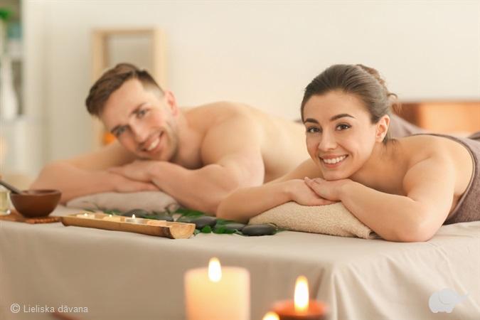 Массаж «Прикосновение тепла» для двоих