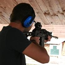 Стрельба из пяти оружий в тире «Smaragdi»