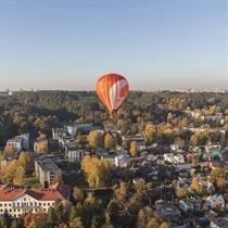 Lidojums ar gaisa balonu Lietuvā
