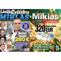 Подписка на журналы «Lielās Zviedru mīklas» и «Jaunās Mīklas»