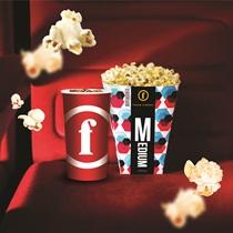 Посещение кинотеатра + закуски