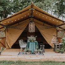 """Ballīte glempinga teltī """"Esena Dārzi"""""""