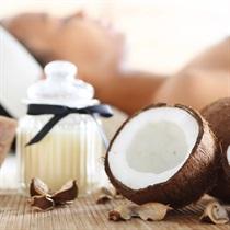 Šokolādes un kokosriekstu eļļas masāža + ietīšana