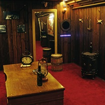 """Kvestu istaba """"Senā kapteiņa kajīte"""""""