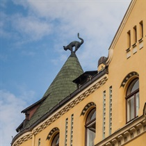 Rīgas arhitektūra piedzīvojumiem bagātā ekskursijā