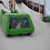 """Nobrauciens ar """"Vardi"""" Siguldas bobsleja trasē"""
