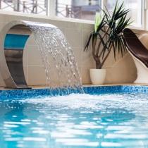 Посещение водного центра в «Hotel SPA Arkadia»