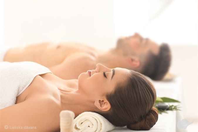 SPA массаж для пары «Милые голубки»
