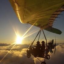 Полет на мотодельтаплане в Даугавпилсе