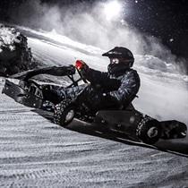 """Brauciens ar ziemas kartingu sporta kompleksā """"333"""""""