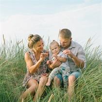 Sirsnīga ģimenes fotosesija