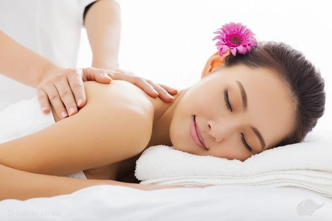 Гречневый массаж всего тела