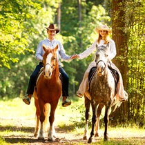 Romantiska izjāde ar zirgu + fotosesija