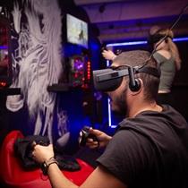 Развлечение в студии виртуальной реальности «VR Gaming»