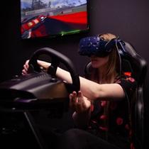 Гоночный симулятор с VR-очками «VR Gaming»