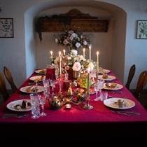 Дегустационный - ужин в кафе Рундальского дворца