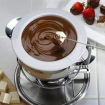 Šokolādes fondī draugu vai ģimenes lokā