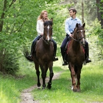 Izjāde ar zirgiem 2 personām