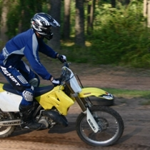 Krosa motocikla noma
