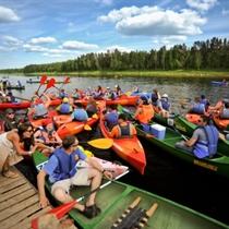 Laivošana pa Latgales ūdens krātuvēm