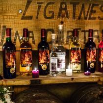 Дегустация вина в Лигатне
