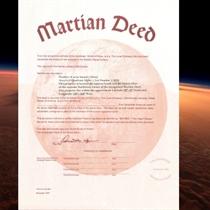 Kļūstiet par Marsa īpašnieku!