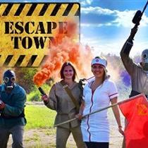 """Kvestu spēle  """"Escape town"""""""
