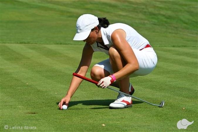 """Golfa spēles """"pirmo soļu"""" komplekts"""