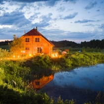 Романтический ужин и отдых на природе в «Rēķu kalns»