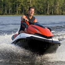 Brauciens ar ūdens motociklu Liepājā