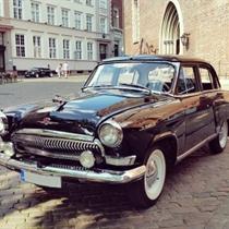 Izbrauciens ar retro automašīnām Volga GAZ 21 jeb Volga GAZ 24