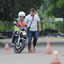 Moto kursi - praktiskā braukšana