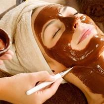 Šokolādes procedūra sejai, kaklam un dekoltē