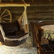 Гамак-кресло для дома и сада, для отдыха и декора